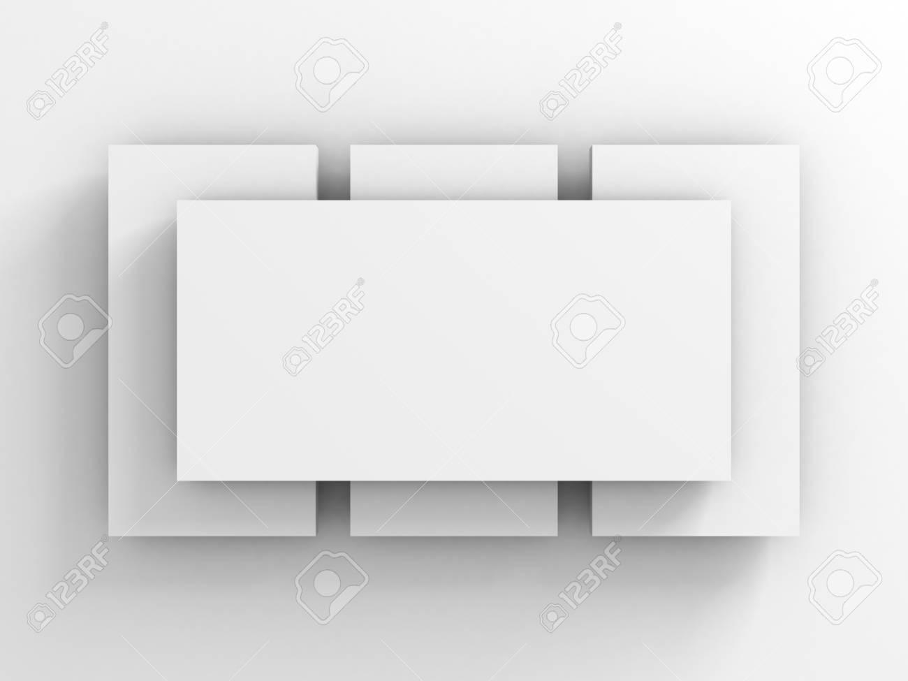 Resumen Antecedentes De Tarjeta En Blanco Del Cuadro O Marco. 3d ...