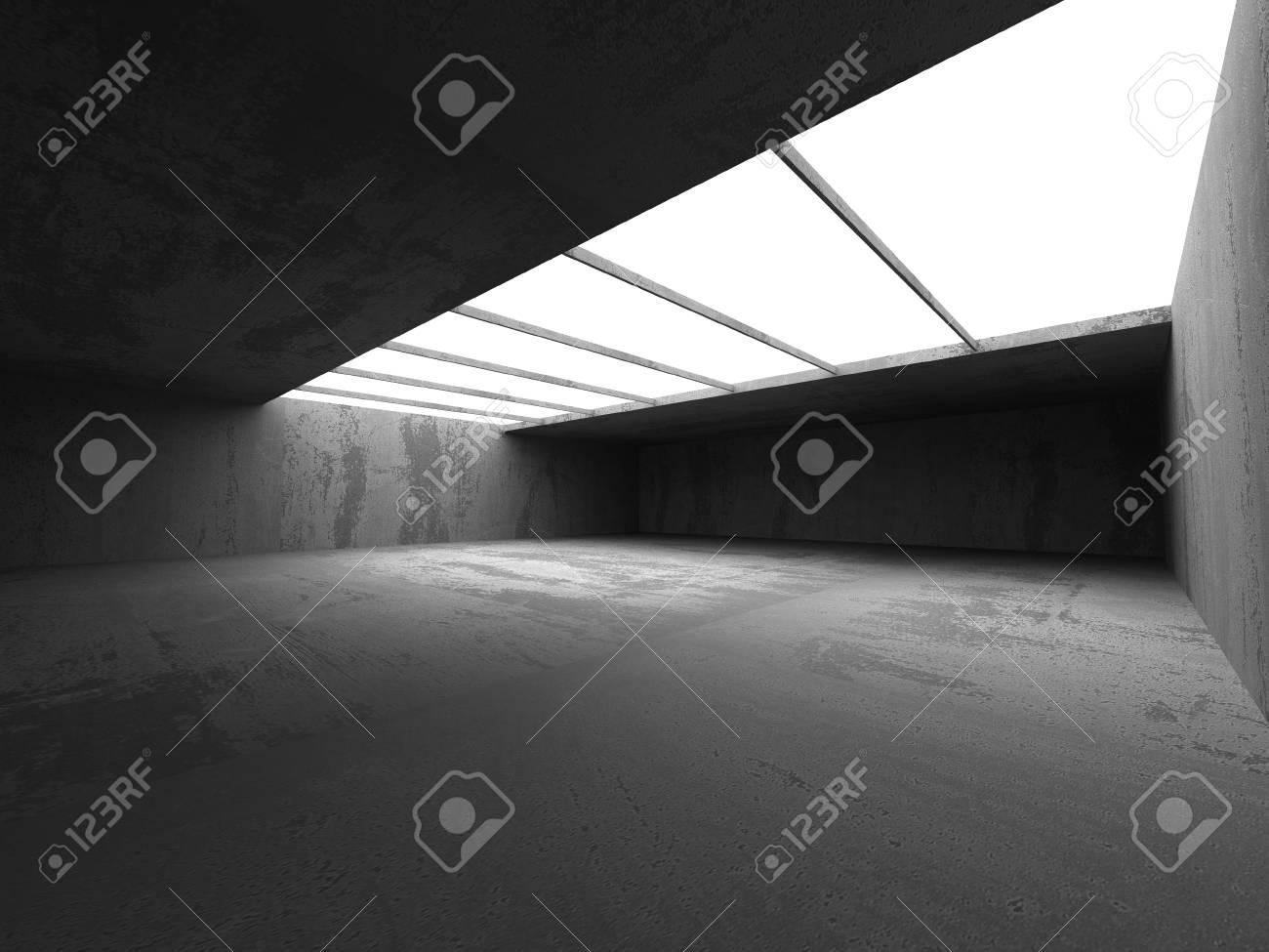 Resumen Antecedentes Arquitectura De Hormigón. Cuarto Oscuro Vacío ...