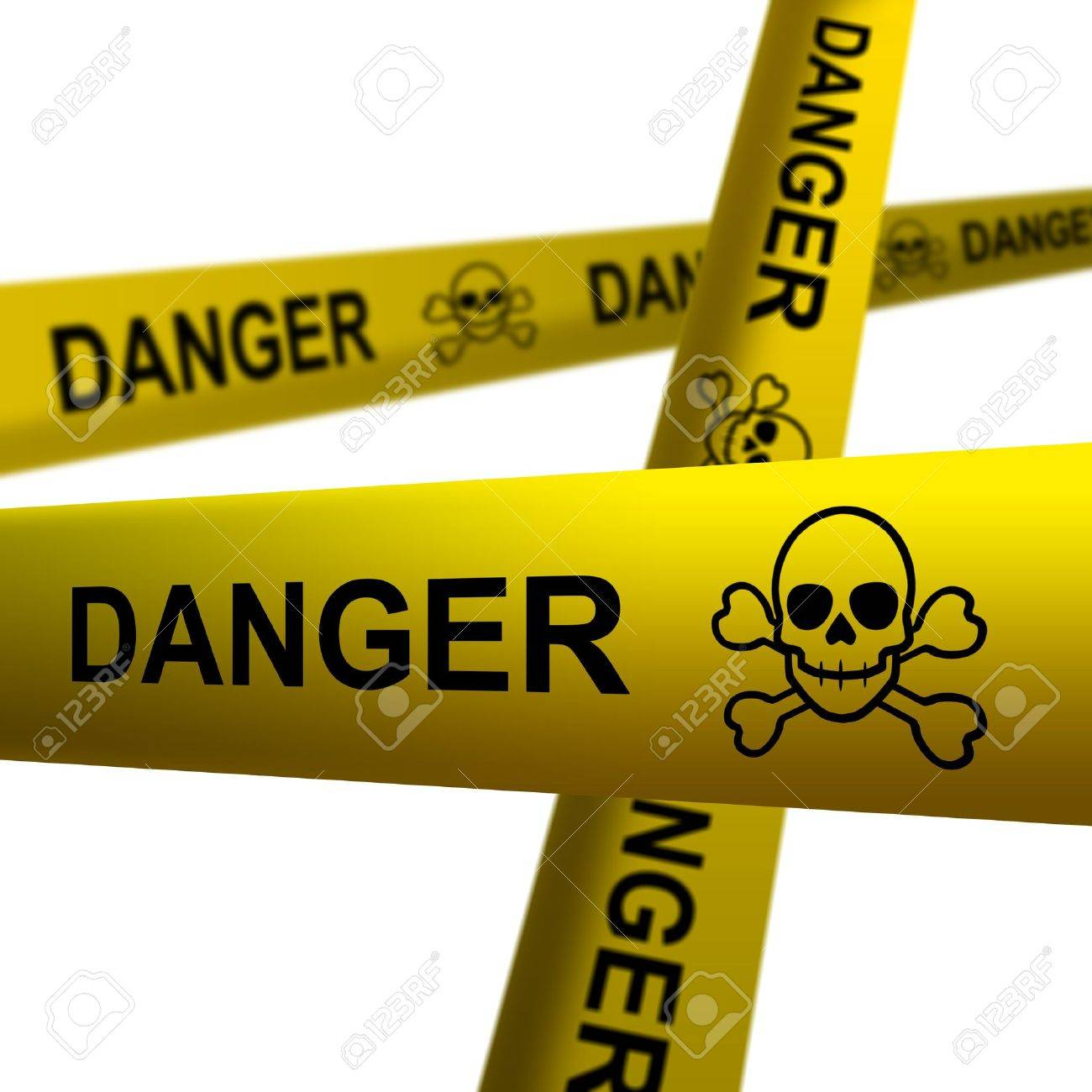 Danger tapes Stock Photo - 15388151