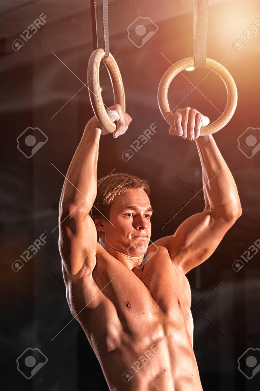 Male flexible gymnasts naked porno photo