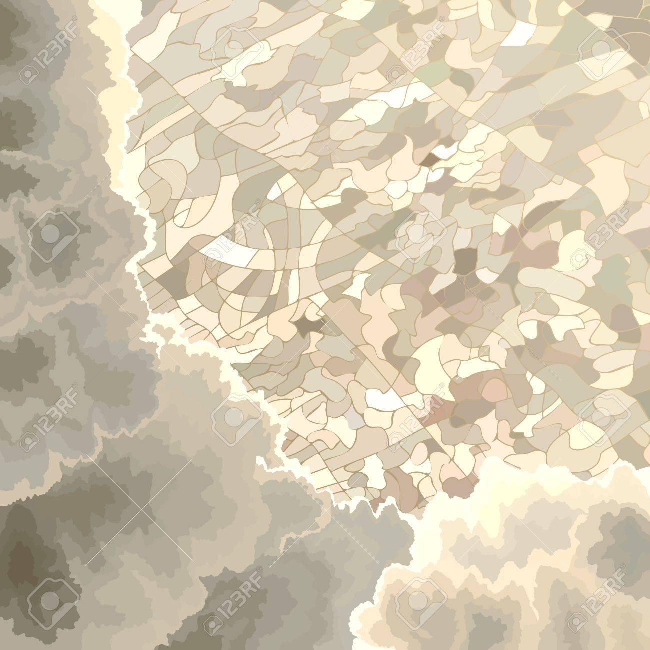 Birds Eye View Illustration Birds Eye View Cartoon