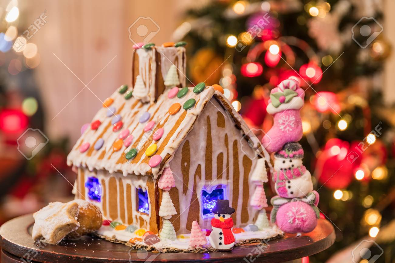 Christmas Gingerbread Cookie House Celective Focus