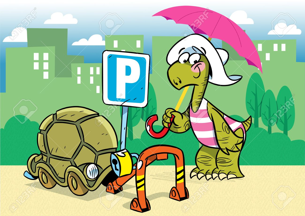 Image result for parking cartoon funny