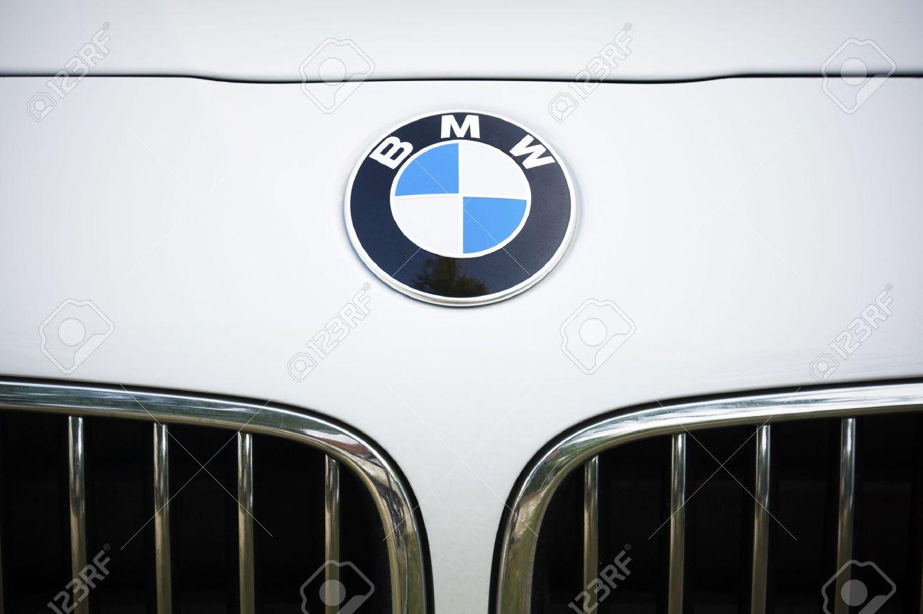 Padua Italy July 8 2012 Circle Shape Bmw Logo And Part Of