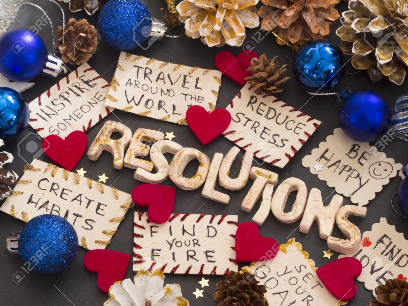 New Year S Resolutions Stock Photo Picture And Royalty Free Image Image 118083545