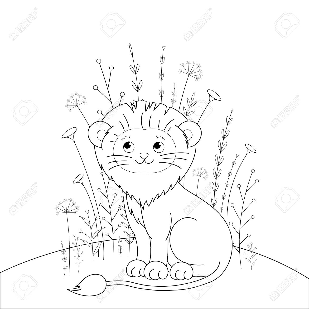 96 Coloring Book Of Animals Best HD