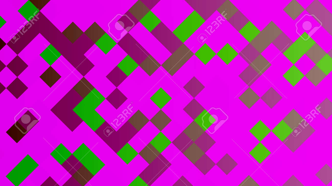 Background of squares. Different shades. With color and light transitions. Background for design. - 141928983
