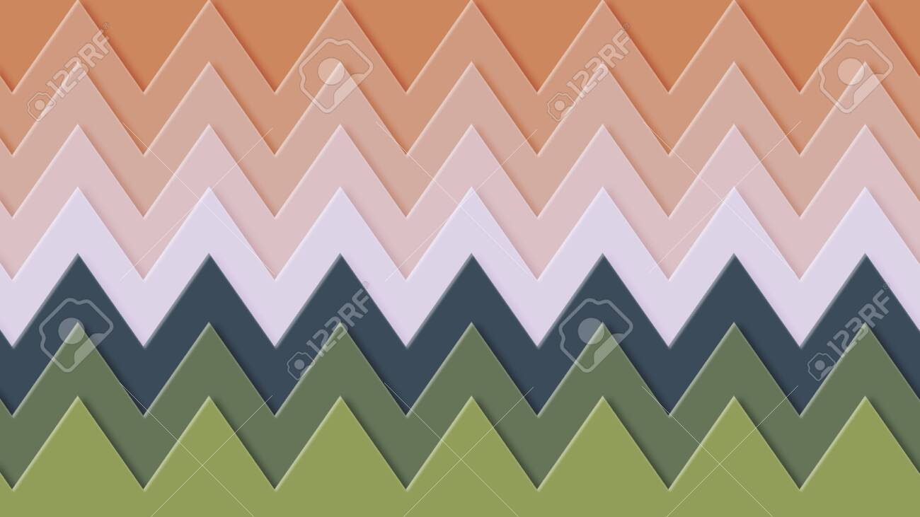 Background in paper style. Of multi-colored details. - 141928984
