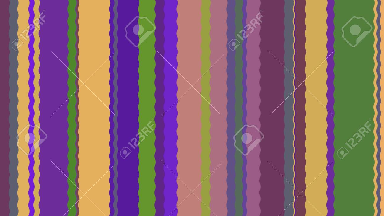 Background with color lines. Different shades and thickness. - 141929030