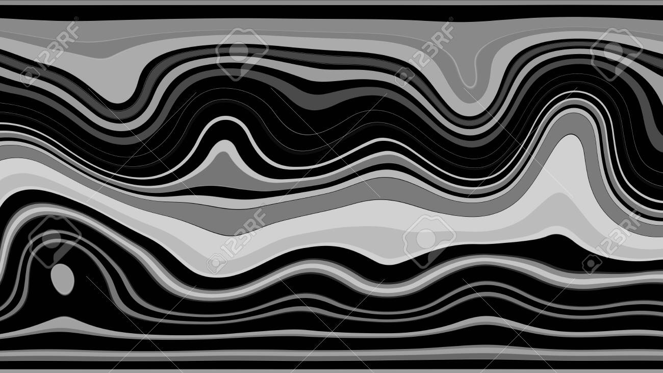 Background with color lines. Different shades and thickness. - 141929031