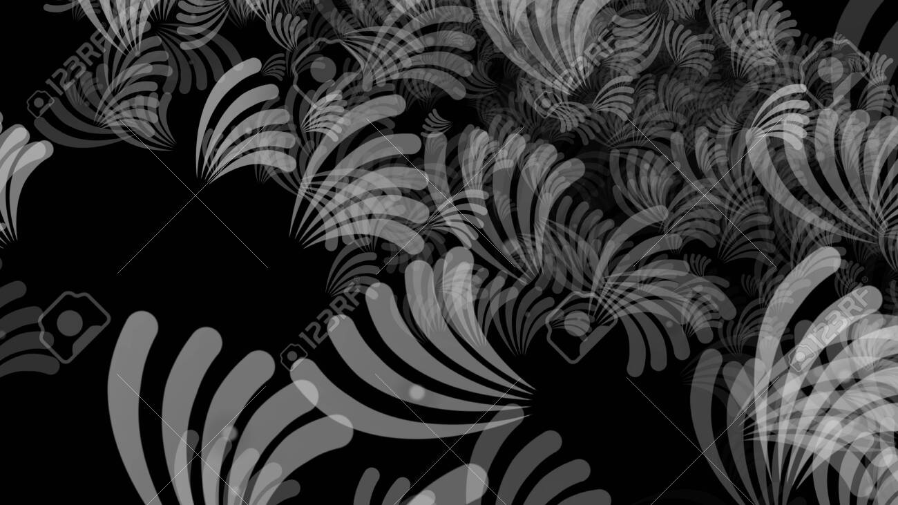 Abstract background pattern with plant matter. Multicolored background. - 141965159