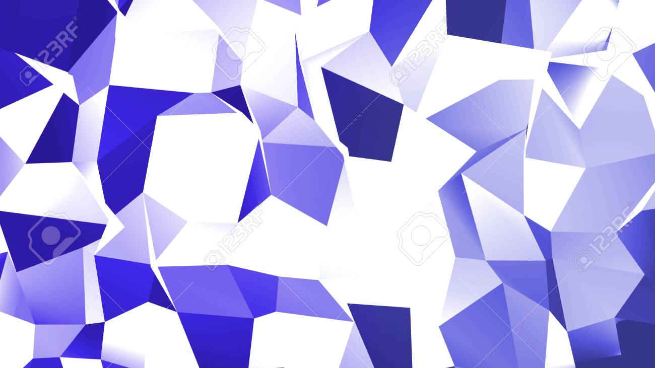 Background from polygons. Texture of geometric shapes. With shadows and light. - 141964928