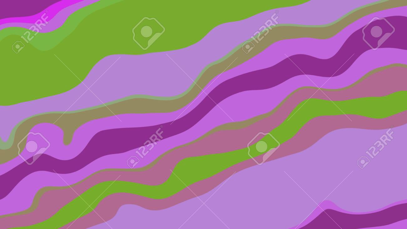 Background with color lines. Different shades and thickness. - 141929121