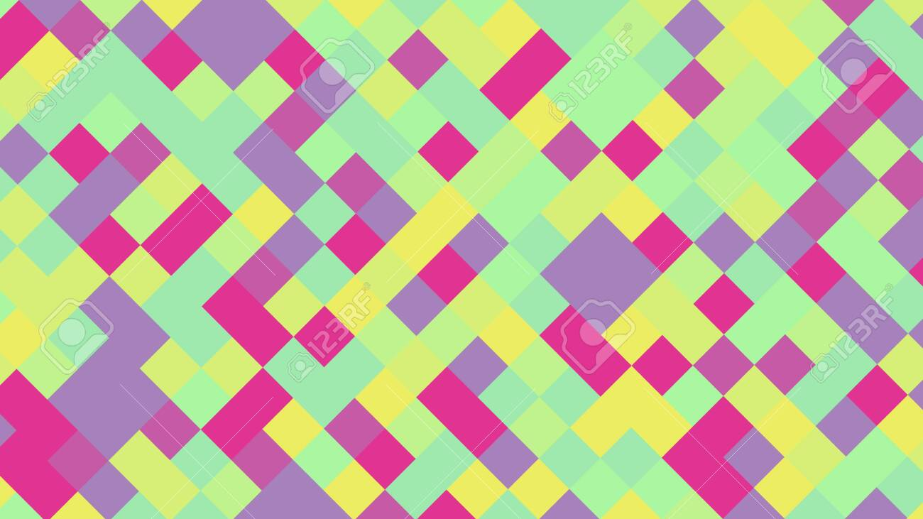Background of squares. Different shades. With color and light transitions. Background for design. - 142843021
