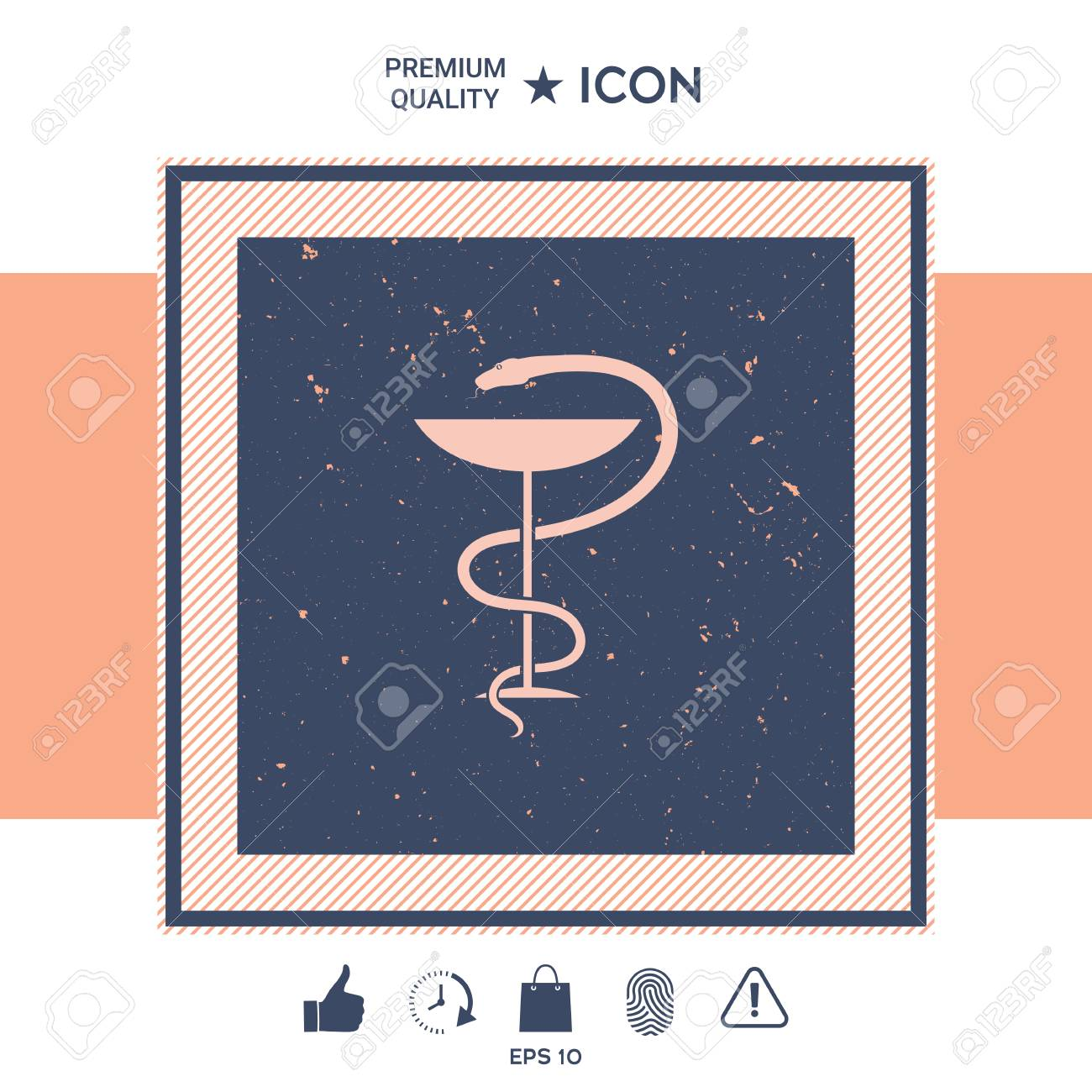 Medical Symbol Medical Snake And Cup Royalty Free Cliparts Vectors