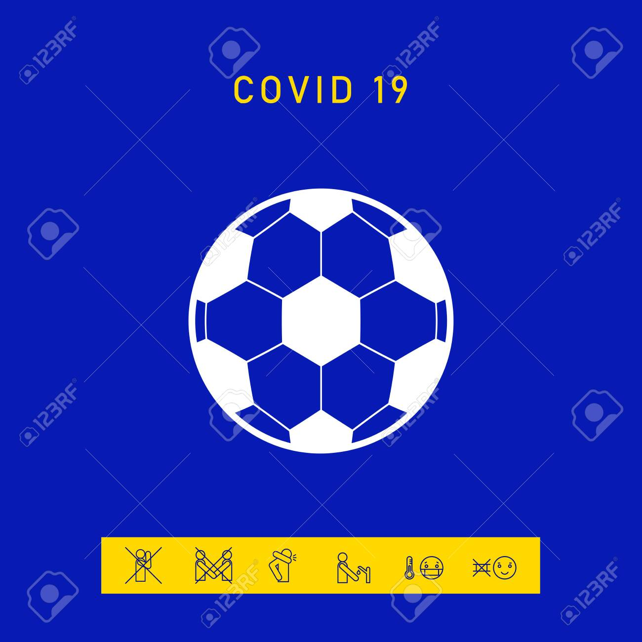 Football symbol. Soccer Ball Icon - 144674437