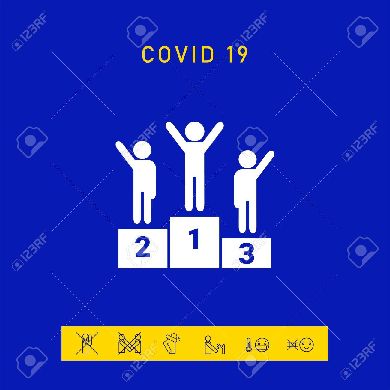 Pedestal podium icon, elements for your design - 144755146