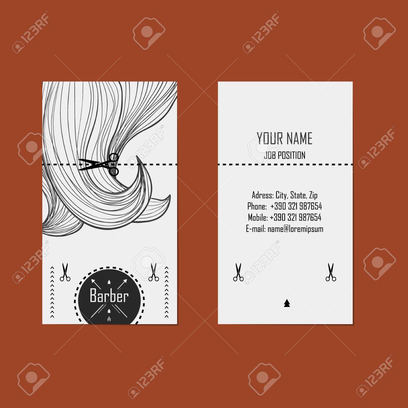 Alternative design business cards for hairdresser barber royalty alternative design business cards for hairdresser barber stock vector 28507546 colourmoves