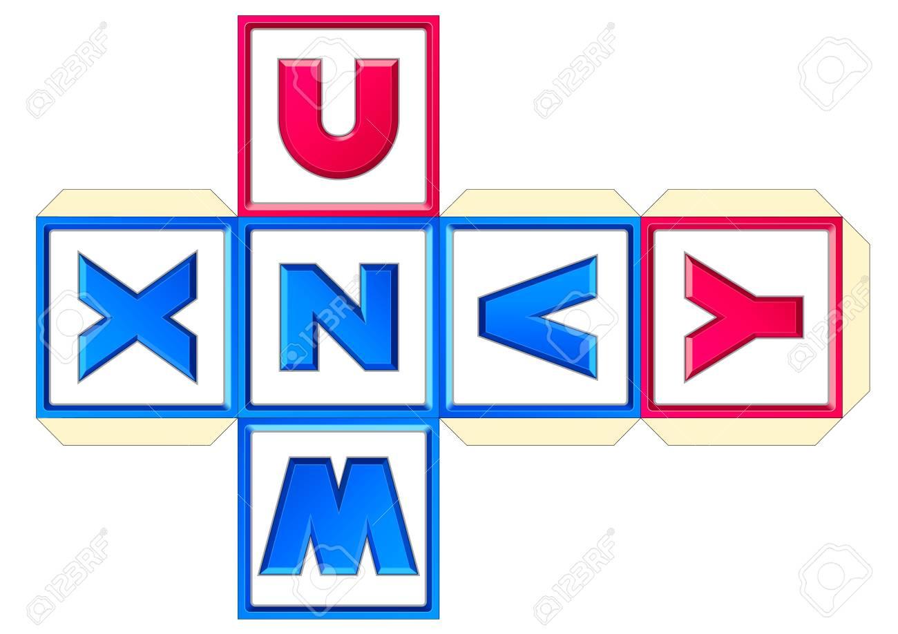 ペーパー キューブ方式 26 文字アリゾナ州 abc アルファベット ラテン