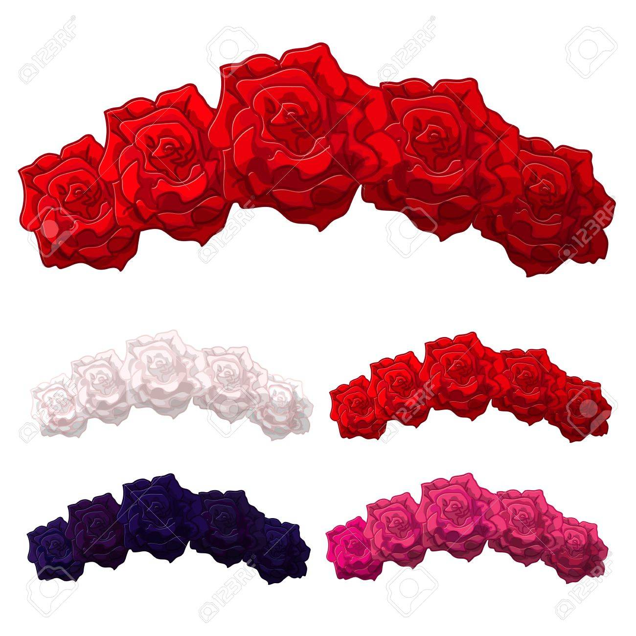 Vector rose flower crown diadem head wreath flower halo vector vector rose flower crown diadem head wreath flower halo decoration headband flower headband clipart isolated on transparent background izmirmasajfo