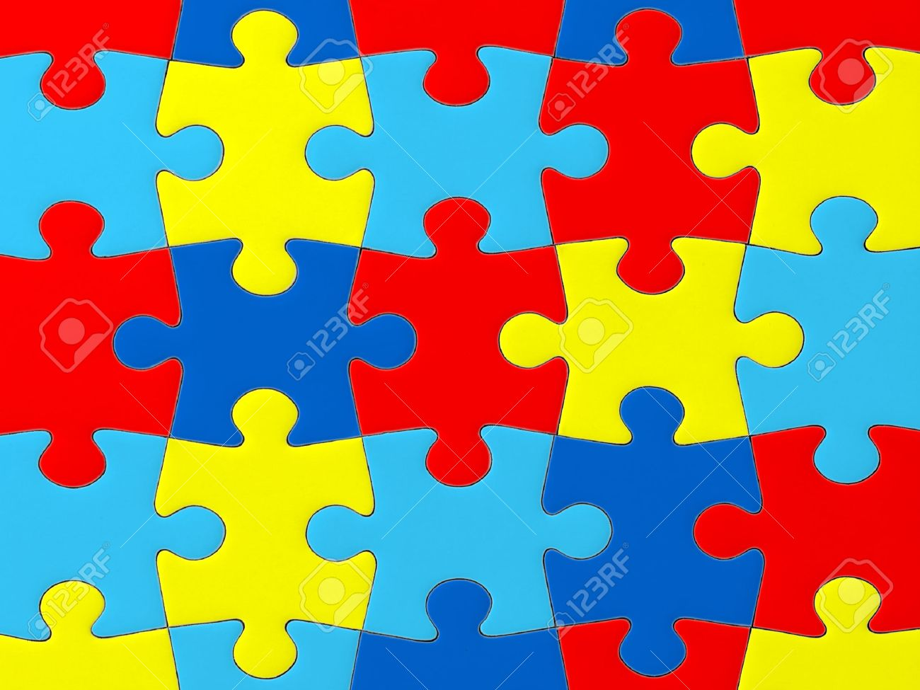 autism awareness puzzle pattern stock photo picture and royalty