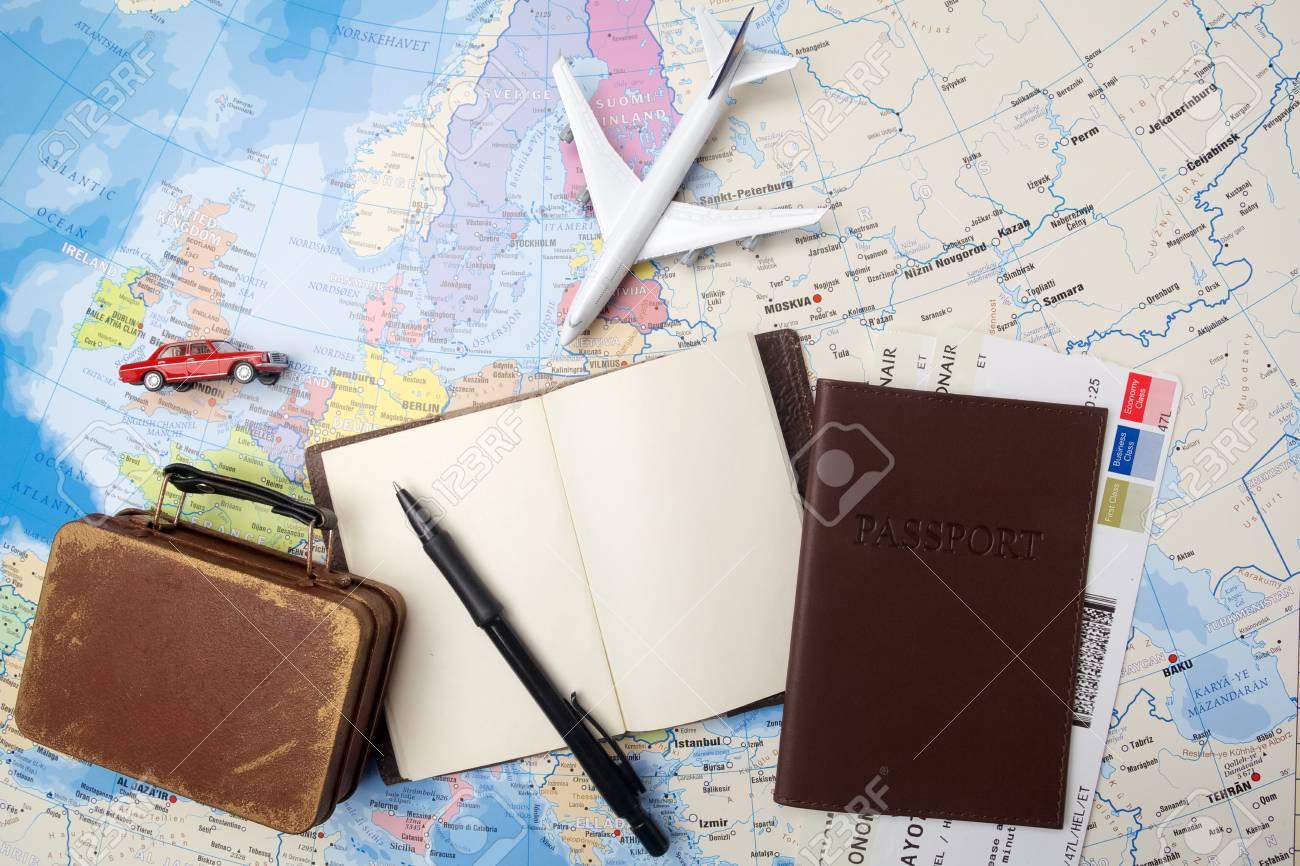 Curso Ferias Da Viagem Modelo Do Turismo Livro De Nota