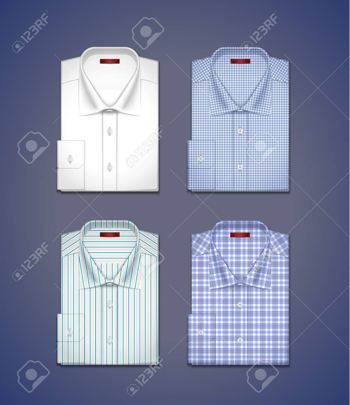 images of men s shirts Stock Vector - 17035597