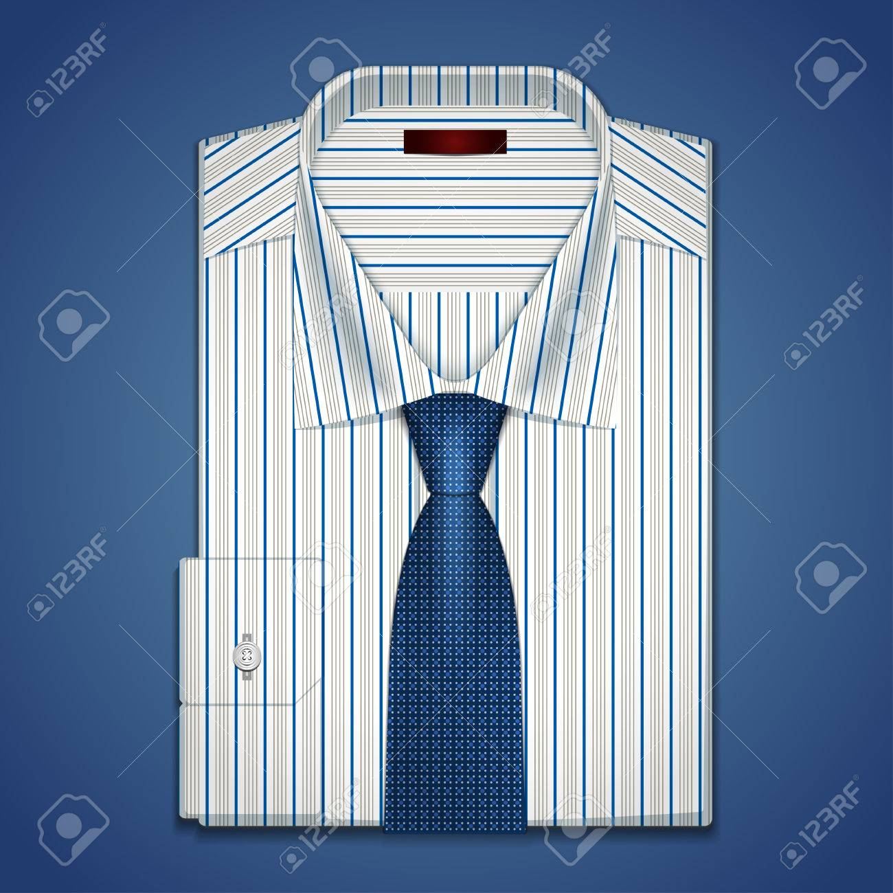 gestreiftes hemd krawatte
