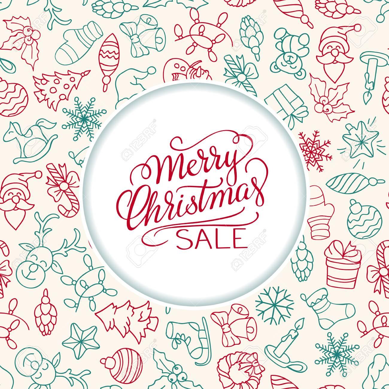 Fondo De Venta De Feliz Navidad Arte Vectorial Perfecto Elemento De Decoración Para Tarjetas Invitaciones Y Otros Tipos De Diseño De Vacaciones
