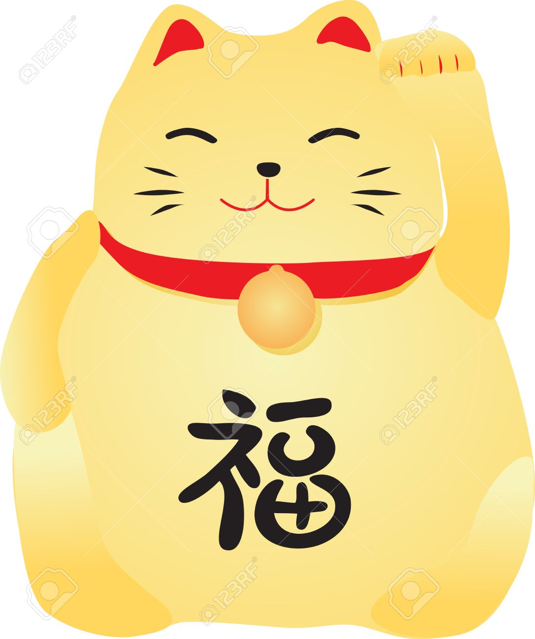Chinese Lucky Cat Royalty Free Cliparts Vectors And Stock Illustration Image 28128261