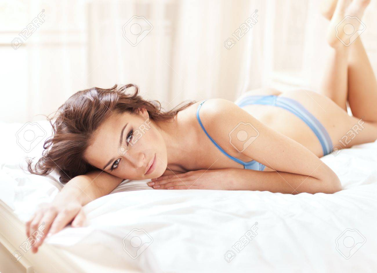 sexy young woman in  lingerie Stock Photo - 12853689