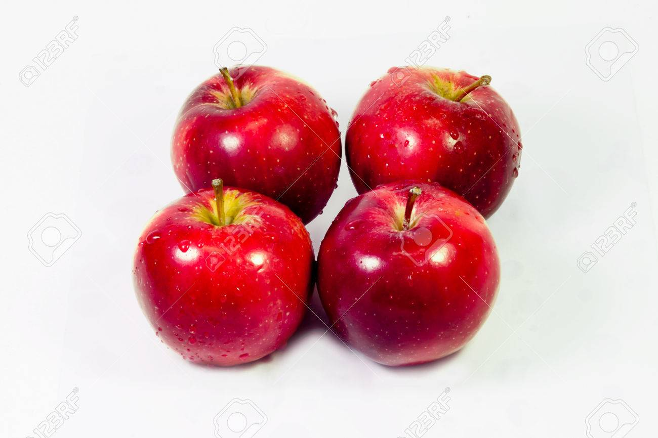 four apples stock photo picture and royalty free image image 26518377
