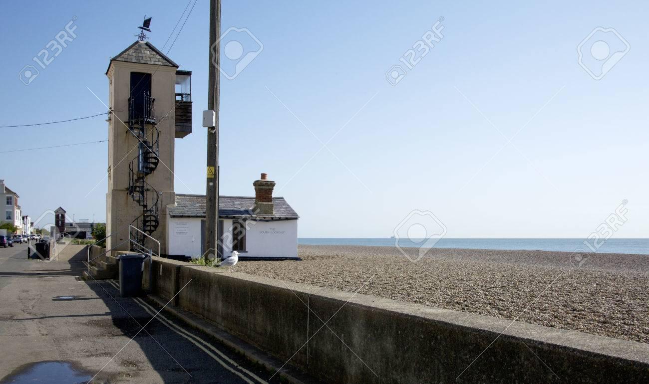 Fisher mans lookout Aldeburgh Suffolk UK
