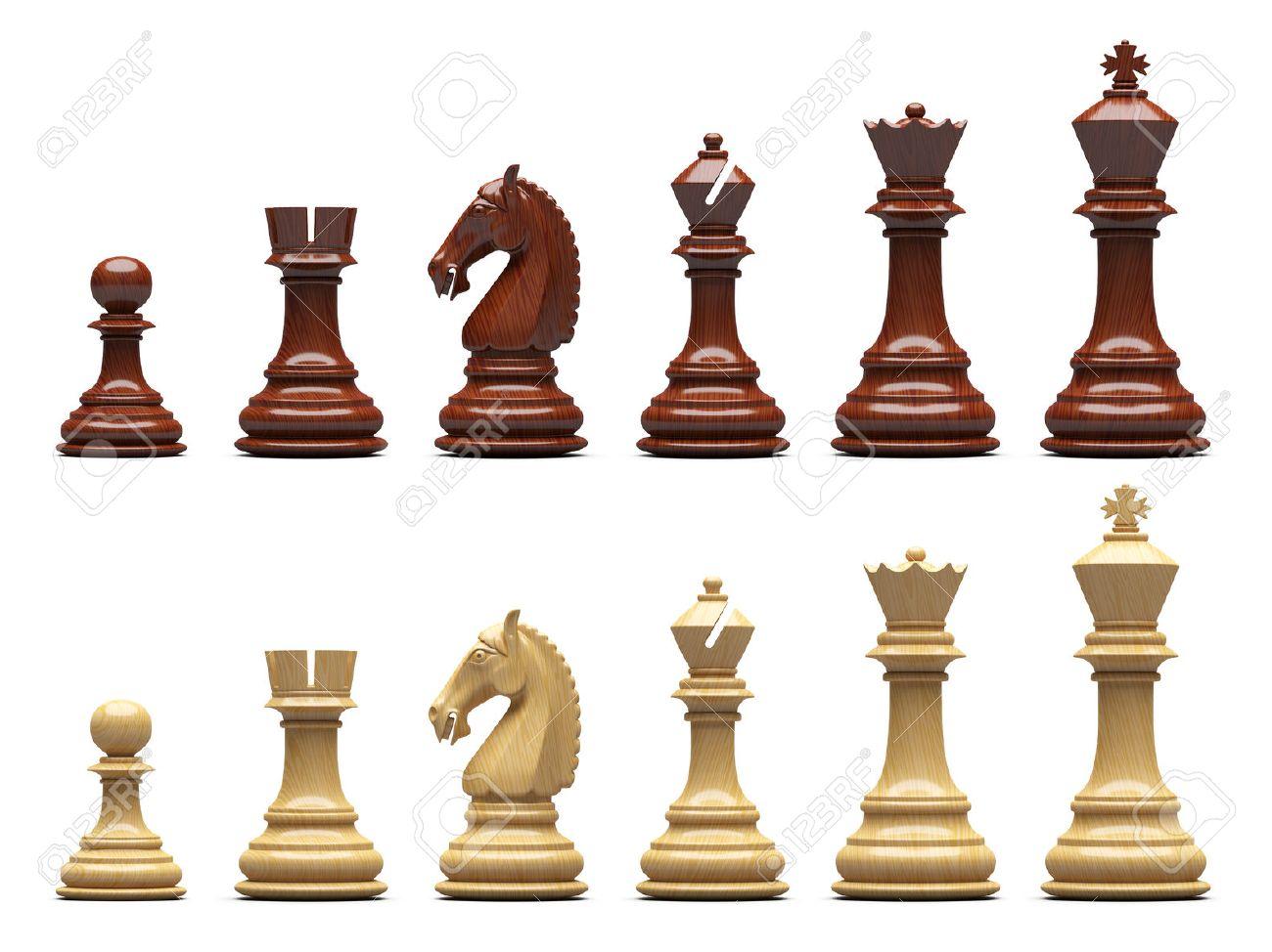 分離されたチェス駒 ロイヤリテ...