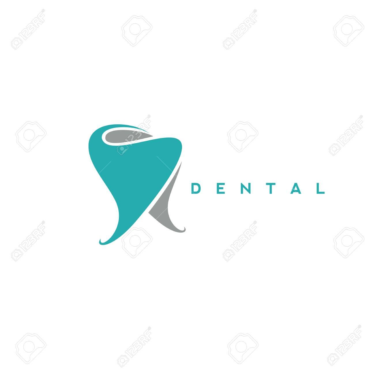 minimal logo of dental symbol vector illustration - 94762214