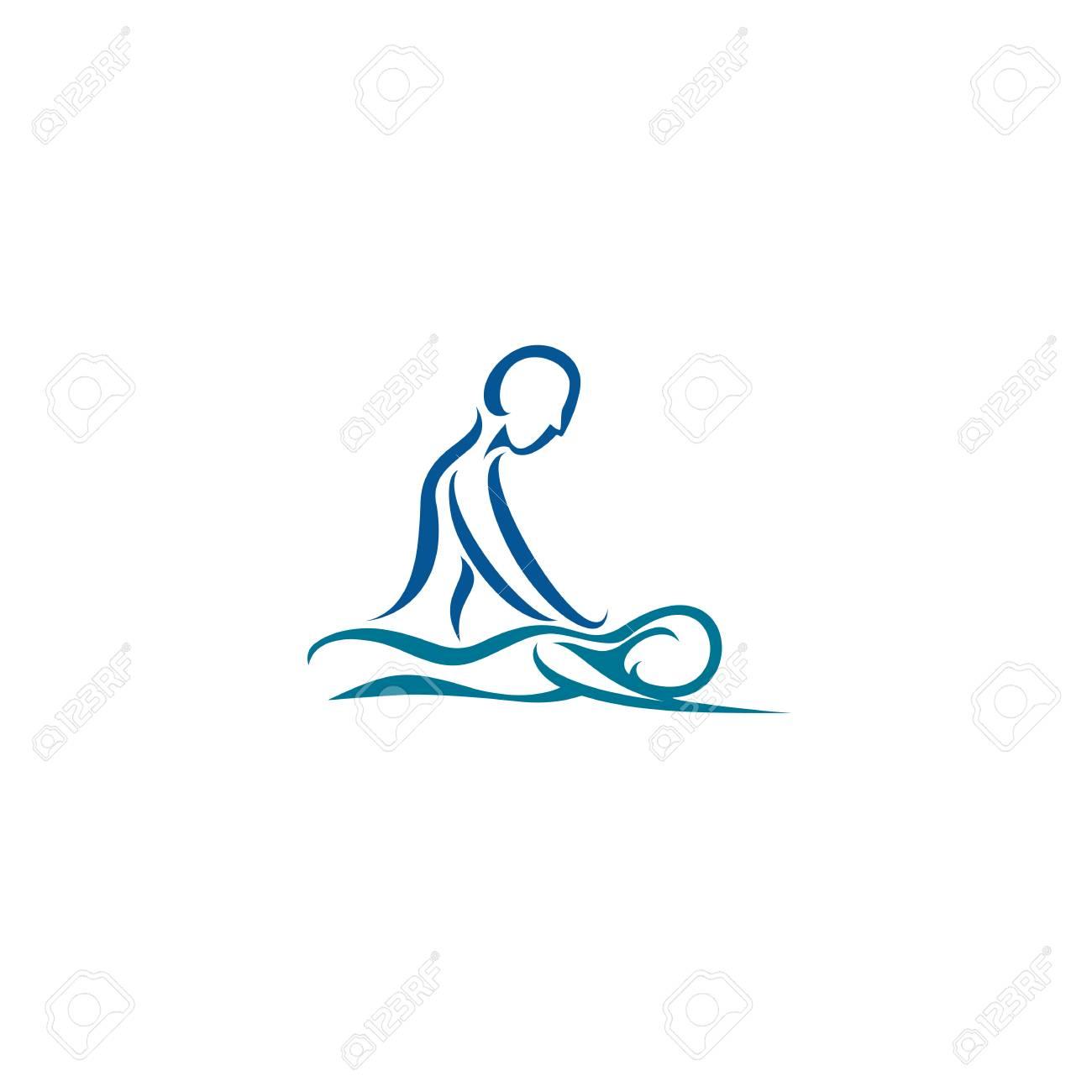 Creative spa center vector illustration. - 94819313