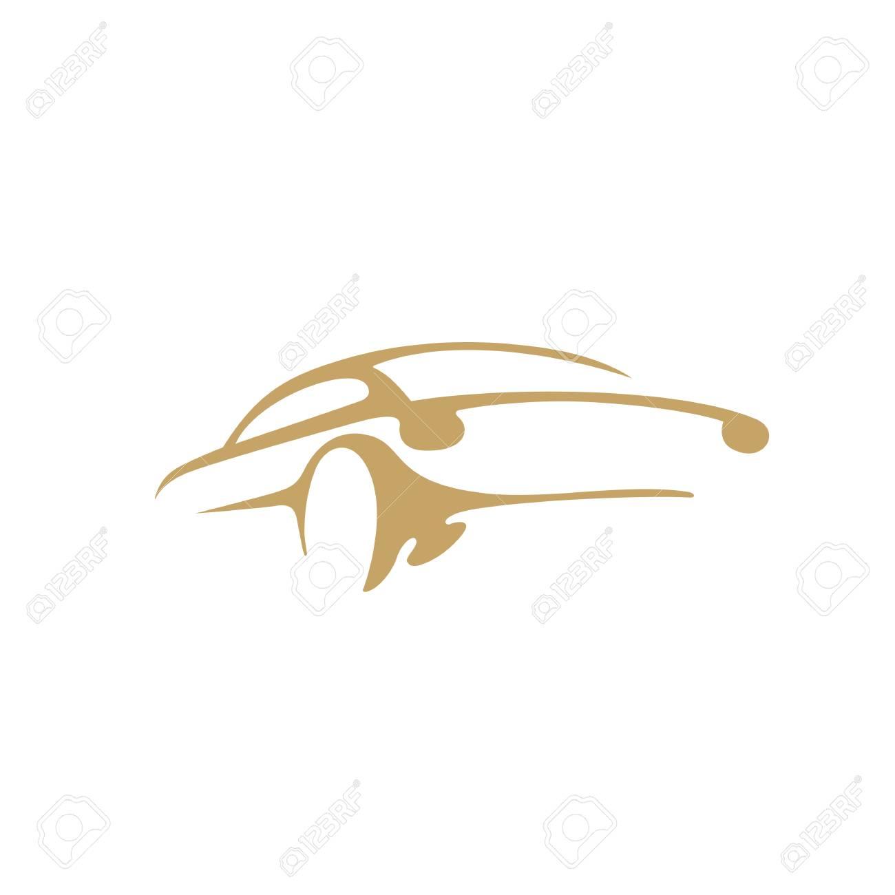 Minimal logo of car vector illustration - 94908313