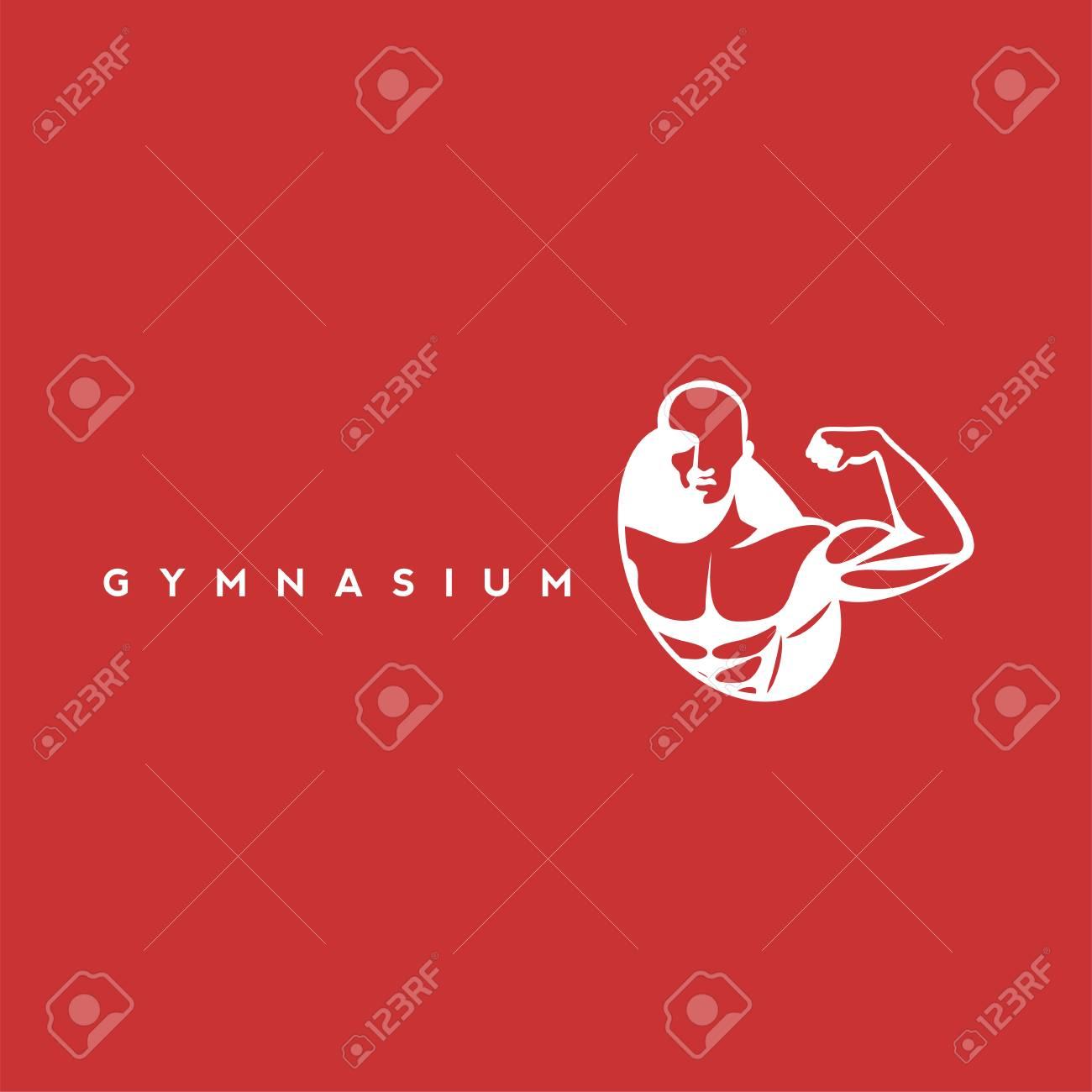 White gymnasium icon vector illustration. - 95226136