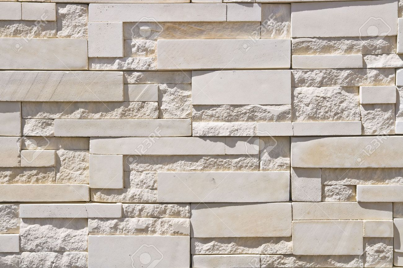 white modern brick wall stock photo, picture and royalty free