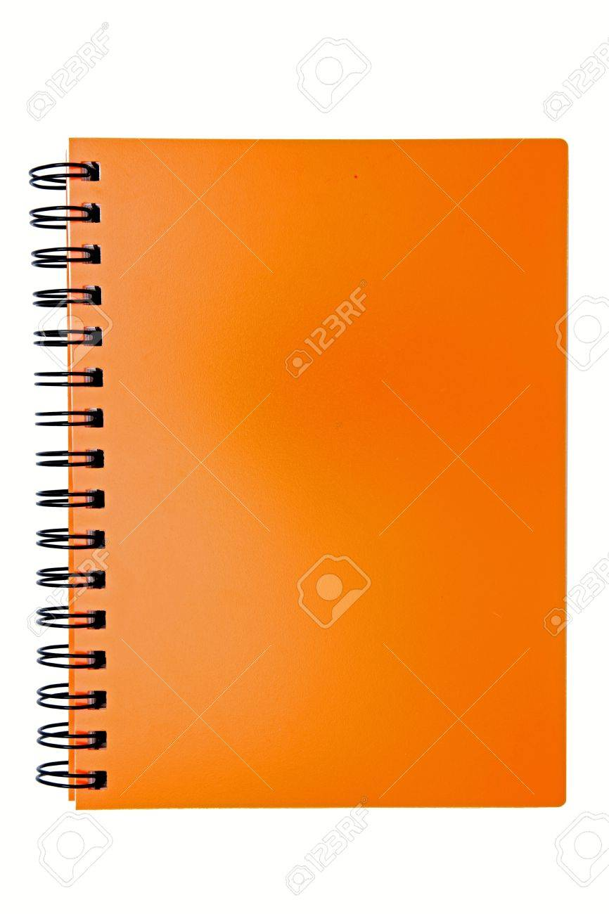 cover sheet stock vector illustration and royalty cover sheet cover sheet isolated blank orange ring binding book stock photo