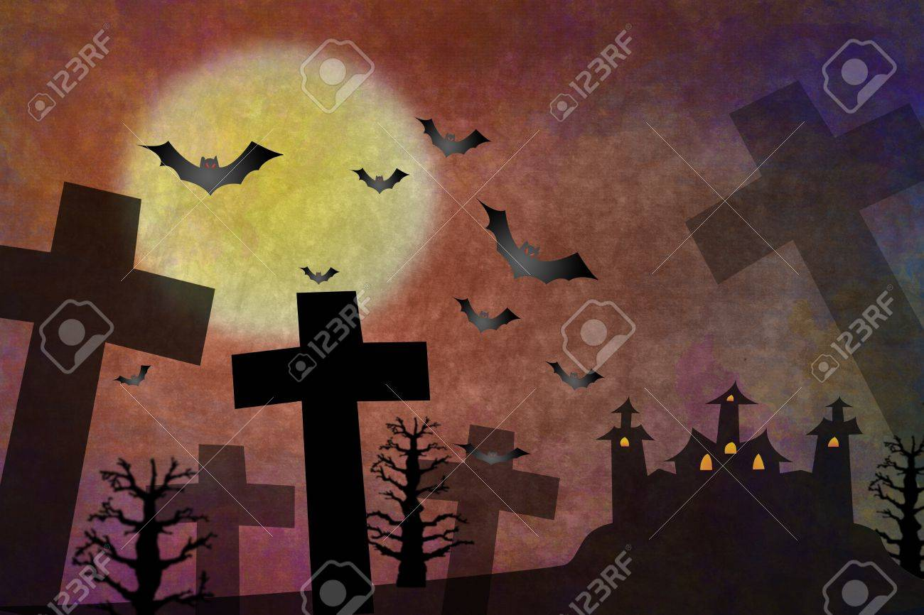 Grunge horror background for Holloween concept Stock Photo - 10513098