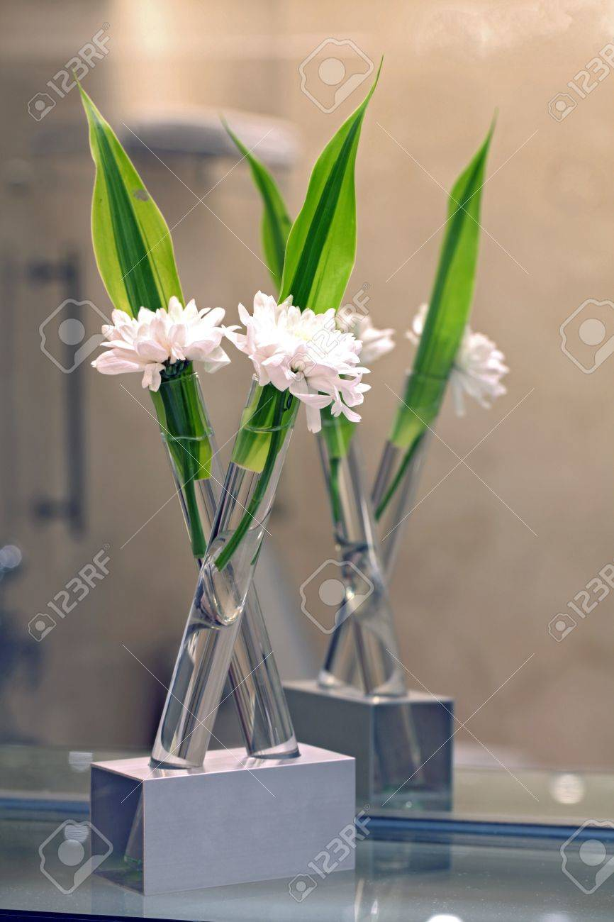 White Flower For Spa Decoration Still Life Stock Photo, Picture ...