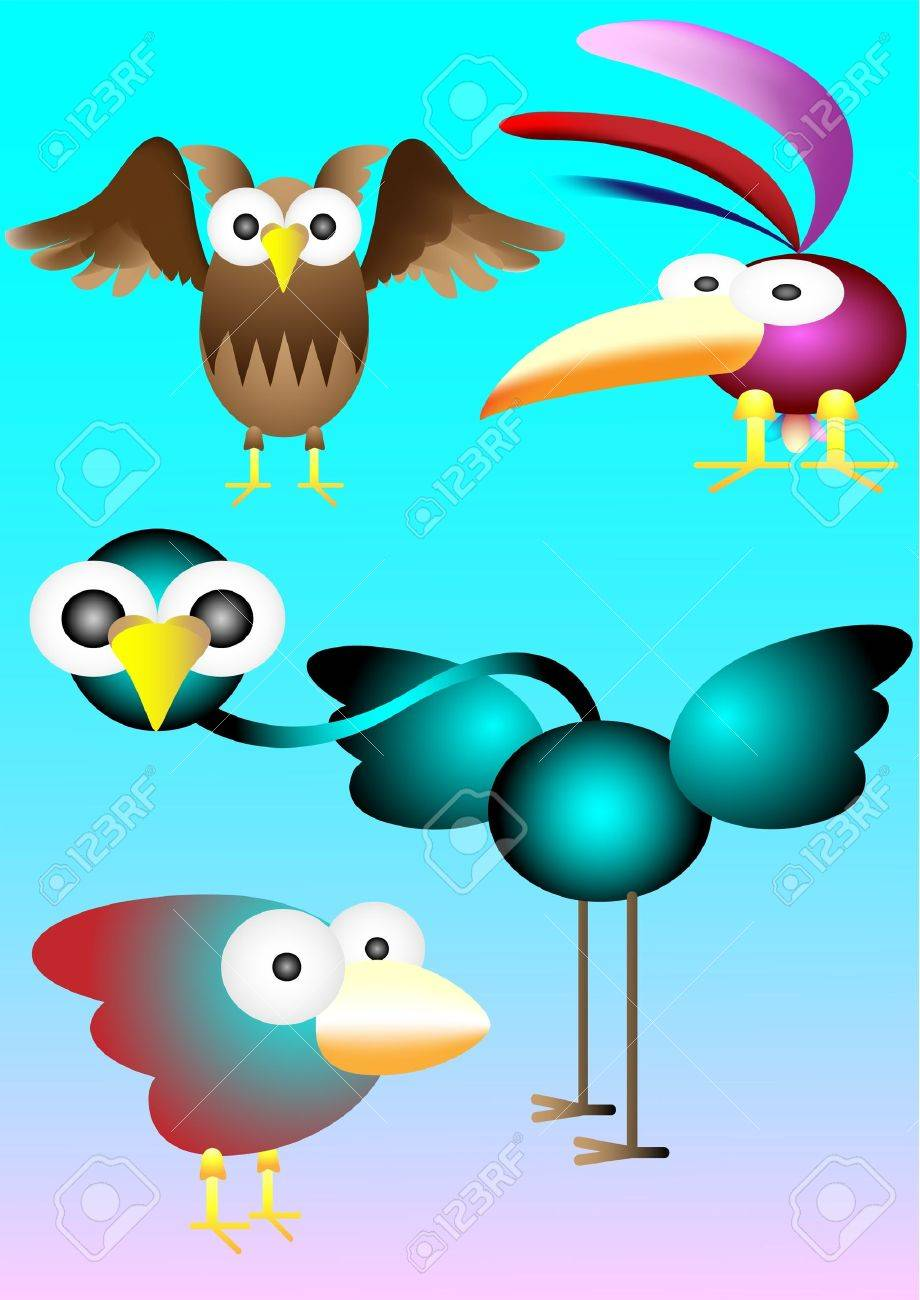 birds Stock Vector - 11664637