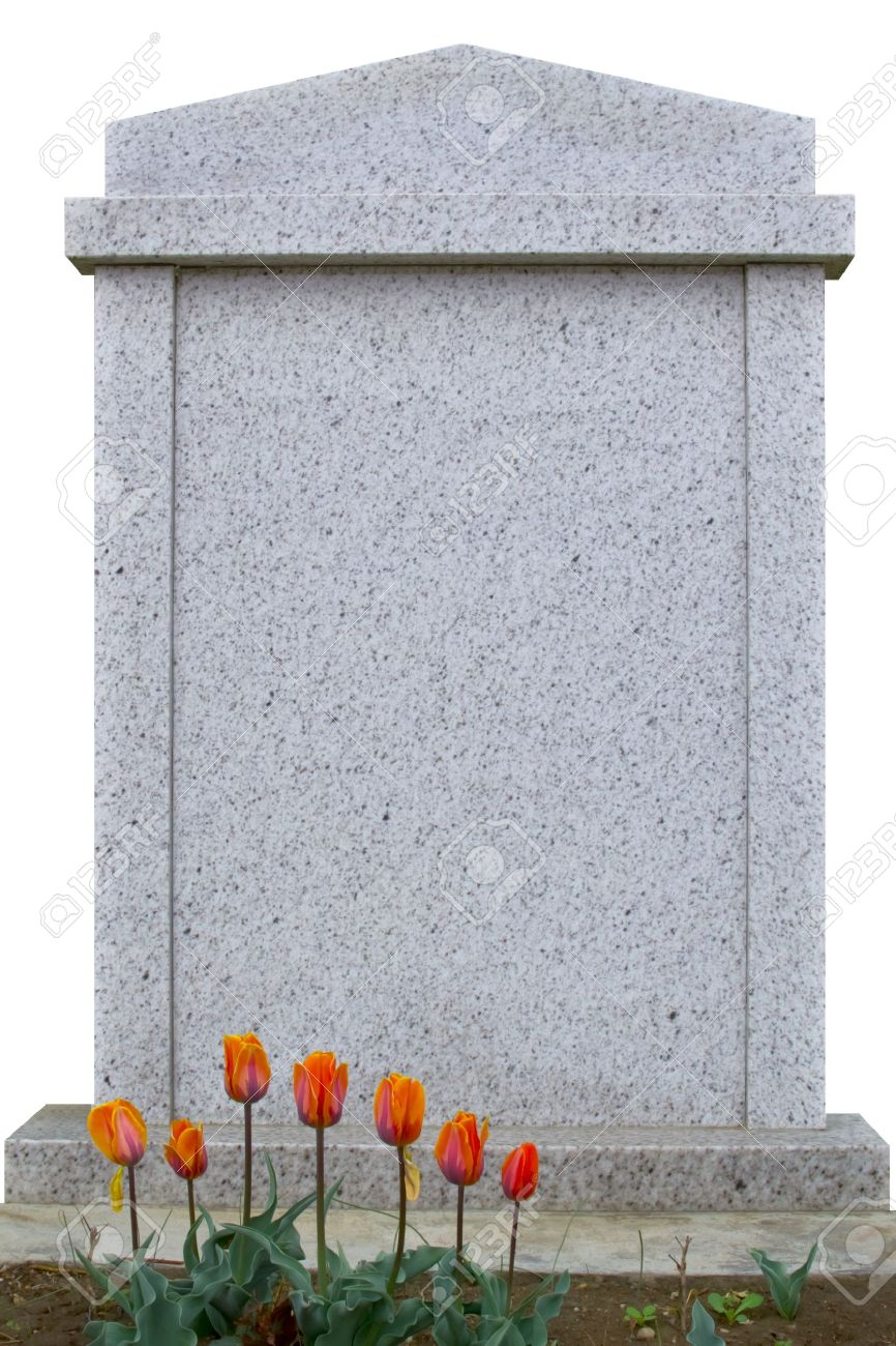 Blank gravestone, ready for an inscription Stock Photo - 13181622