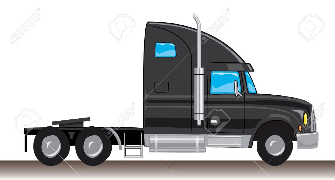 Semi Truck Cartoon Image Truck Cartoon Semi