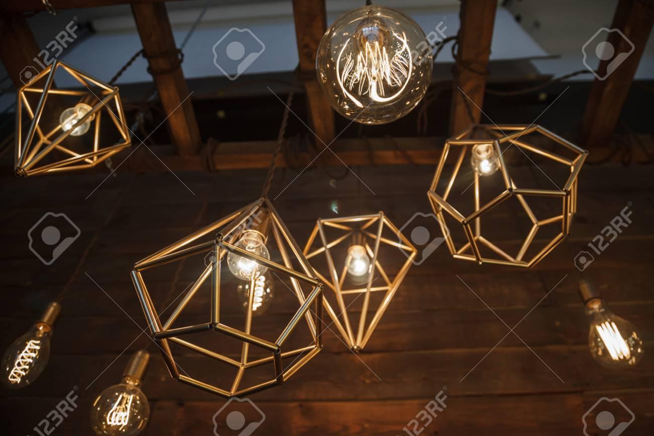 Glühlampen retro lampen in einem modernen stil edison lampe