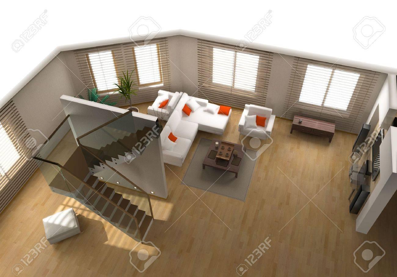 Interni Moderni Appartamenti: Appartamento in stile moderno e ...