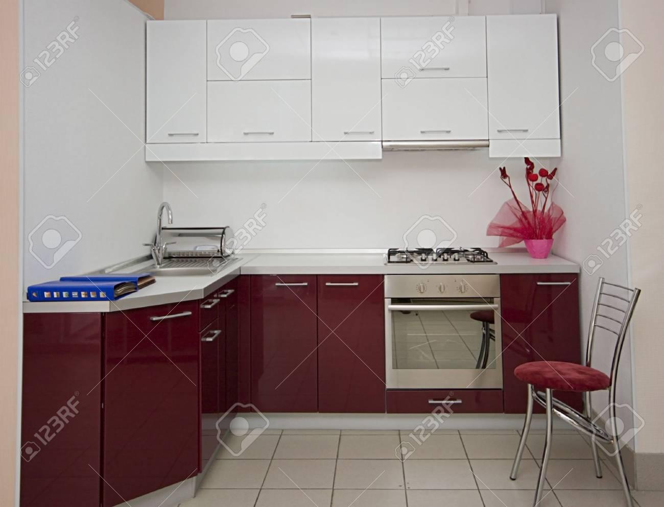 modern kitchen interior details image Stock Photo - 3063984