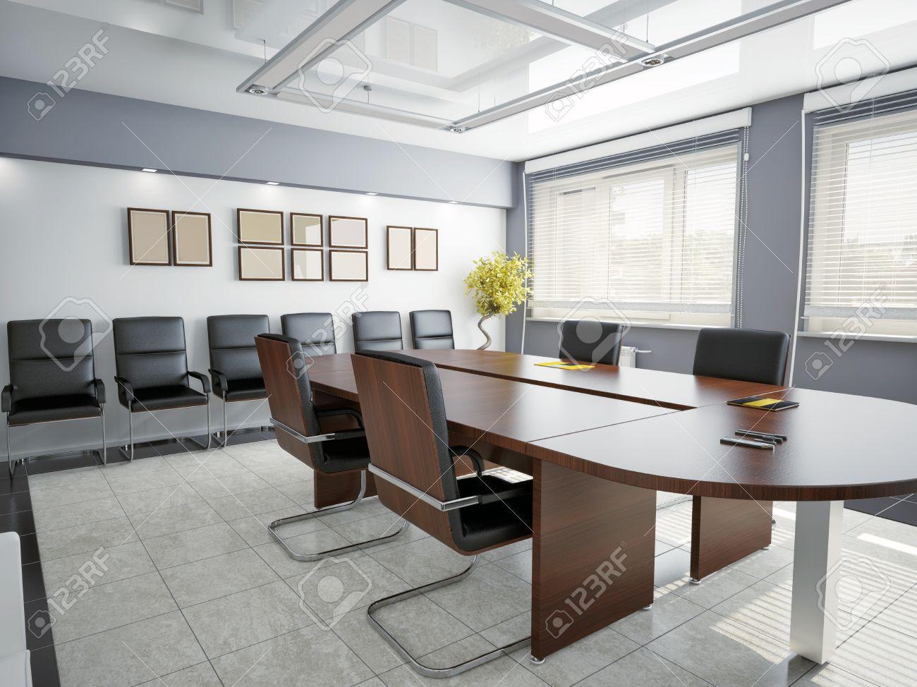 De bureaux moderne intérieur de rendu d banque d images et photos