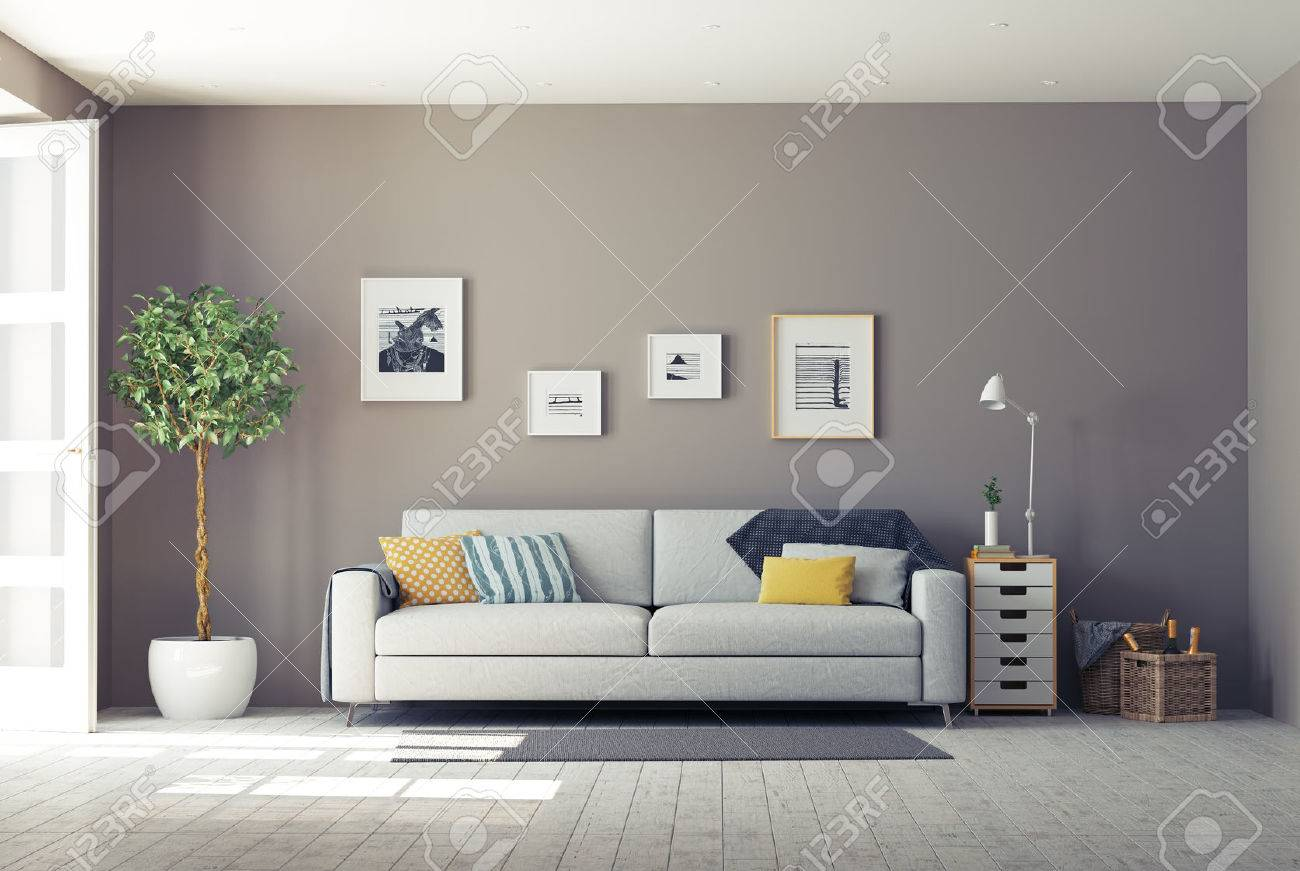 Modern Interior3d Design Concept Stock Photo Picture And Royalty